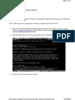 Firmware Update Procedure-ML