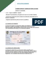 Documentos Necesarios Del Carro Colombia