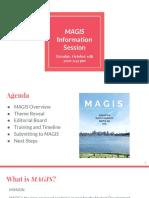 magis information session 2016