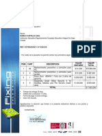 COTIZACION C- N° 0154-016 I.E INTEGRAL DE SOPO