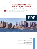 2016 Massachusetts-Israel Economic Impact Study