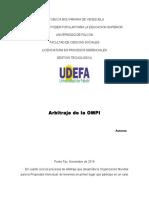 Arbitraje de La OMPI