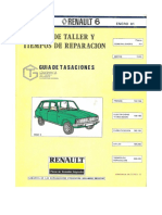 [RENAULT] Manual de Taller Renault 6