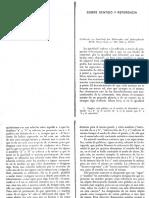 Frege Sobre Sentido y Referencia%2c Primeras Páginas