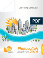 Brochure Upsolar 2014 Usa Ul