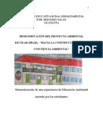 Proyecto Transversal Del Medio Ambiente 2014 - PRAE