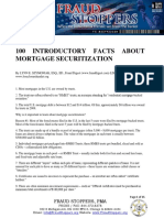 100 Introductory Facts About Mortgage Securitization
