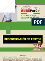 Decodificación de Textos