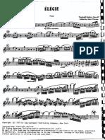 Boehm Élégie Op.47 FL