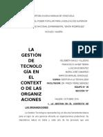 Gestion (u.02) La g.t en El Contexto de Las Organizaciones
