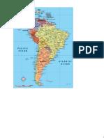 Southamerica Map