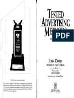 Tested Advertising Methods