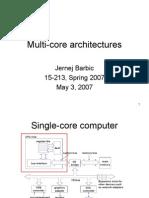 Multi Core 15213 Sp07