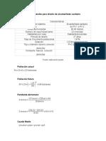 Bases Generales Para Diseño de Alcantarillado Sanitario