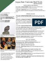 fall 2016 bird nerds newsletter  1