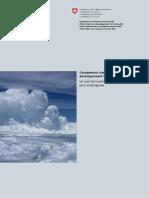 Changement climatique et développement territorial