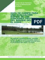 Guia Para Func Protectoras Del Bosque de Suelo y Agua