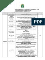 Calendário Acadêmico 2017.1