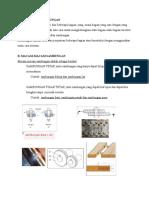 Sambungan Lap Joint dan Pemasangan Paku Keling Jenis Countersunk.docx