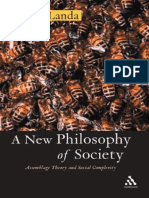 A New Philosophy of Society - Manuel de Landa