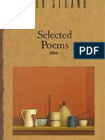 Selected Poems by Mark Strand
