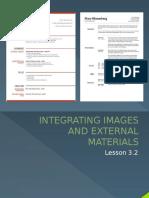 Integrating Images