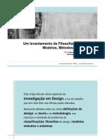 Filosofias de Design Metodos