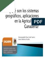¿Qué Son Los Sistemas Geográficos, Aplicaciones en La Agricultura y Ganadería