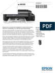 Epson Workforce M105 Datasheet