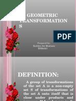 Geometric Transformation 2
