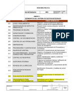 Anexo 1- Listado de Procedimientos Del Sgi