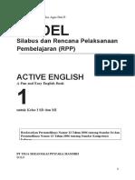 Silabus & RPP SD Bahasa Inggris 1