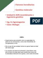 Clase Unidad 6 Biologia Molecular