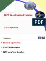 ZTE 3GPP Specification Evolution
