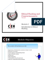 CEH Module 01: Introduction to Ethical Hacking
