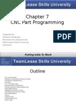 Chapter - 7, CNC Programming