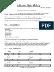 quarter note melody - jim stinnett.pdf