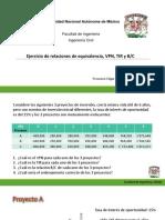Ejercicio VPN, Tir y B-c