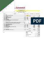 16-XYZ Evaluación Montaje de Cubiertas Sector 3