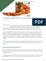 A Dieta Da Batata Doce e Frango Para Emagrecer - MundoBoaForma.com