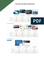 Website Design and Benchmarking