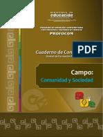 Campo Comunidad Sociedad SOCIALES