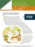 daftar keluhan pasien