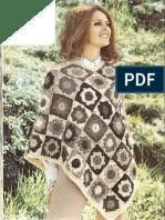 Crochet Poncho Grimsvotn