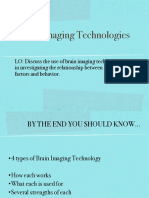 F Brain Imaging Notes