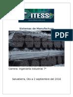 Sistemas de Produccion de Perfiles y Aceros Salvatierra