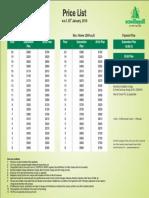 EV 3 Price List (2)