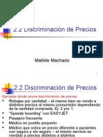 2.2.Discriminaciondeprecios