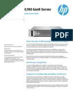 HP ProLiantDL180 DataSheet