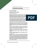 Advances in Desalination Technology